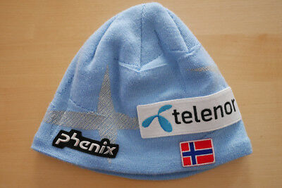 Phenix Norway Mütze Knit Team blau Telenor