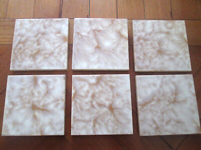 Old Fire Place Ceramic Tiles Set Of Six