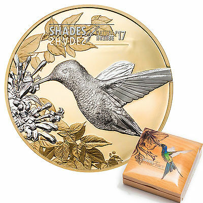 CIT 2017 Shades of Nature Hummingbird 25g Gilded Silver