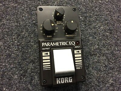 Korg PEQ-1 | Parametric EQ | Vintage | NOS | Made in Japan