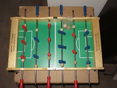 NIB Pottery Barn Kids PORTABLE FOOSBALL TABLE TOP WOODEN GAME NEW *SOLD OUT@PBK