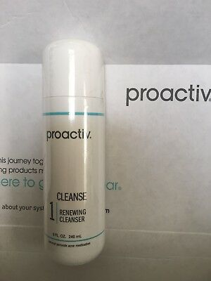 PROACTIV 8 oz Renewing CLEANSER 8oz 120 Day exp 04/19