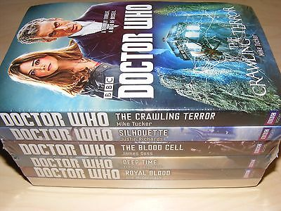 Dr DOCTOR WHO x6 Twelfth Doctor paperback book set collection NEW SEALED