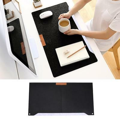 Two-layer Felt Desktop Game Mouse Pad Pen Stationery Holder Mat A4 Files Cover