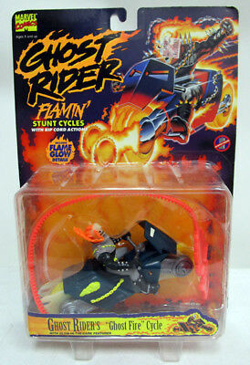 1995 Toy Biz Motorized Ghost Rider Stunt Cycle NMOC