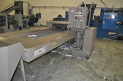 Allegheny APS 5000 industrial 50HP PAPER SHREDDER & input & output CONVEYOR