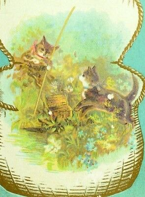 Lovely Cats S.H. Street's Perfection Pudding, Chocolate Vanilla Trade Card P74