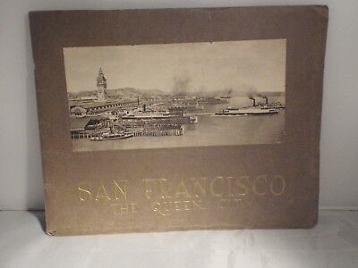 Antique San Francisco The Queen City Souvenir Booklet 1914 PPIE