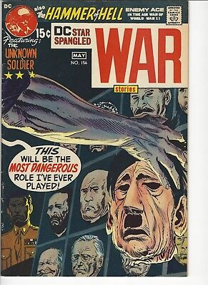 Star Spangled War Stories #156 Unknown Soldier Enemy Ace Kubert Silver Age DC