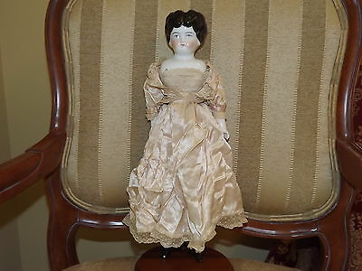 Antique Germany China Head and Cloth Doll 16 1/2 in.