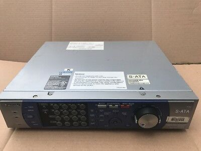 Panasonic Wj-Hd316A 16 Channel Digital Disk Recorder 250/500 Hdd Compatible S-At