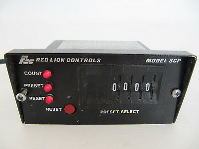 Red Lion Controls Model SCP Digital Counter Unit SCP00400