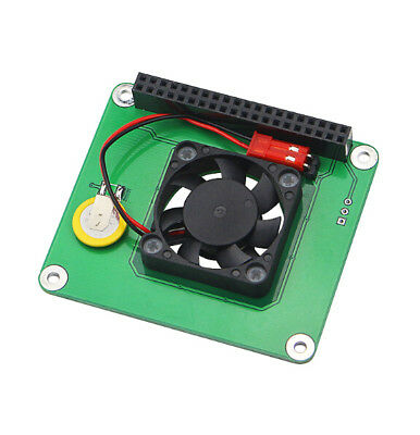 DS1302 CLOCK BOARD Smart Temperature Control Fan matrix Raspberry Pi 3