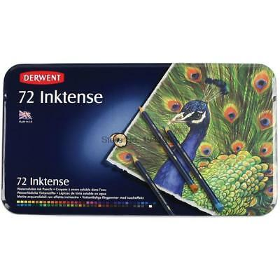 Derwent Inktense Water-Soluble Drawing Colouring Pencil Set of 72