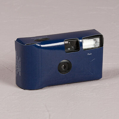 Disposable Camera x 10 with Flash - Navy Blue