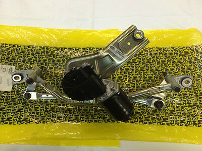 Windscreen Wiper Linkage With Motor Front Fiat Punto Type 199 Magneti Marelli