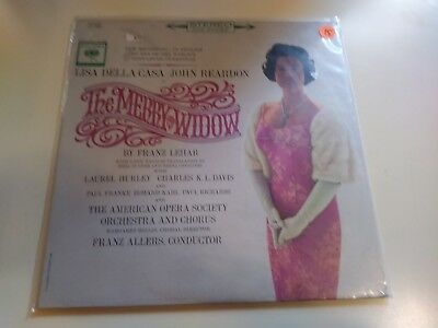The Merry Widow New Sealed 1st Press Stereo Columbia 2280 Record 1962 Old Stock