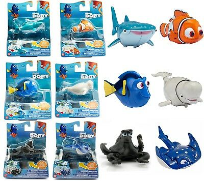 FINDING DORY Swigglefish Toy NEMO HANK DESTINY BAILEY MR RAY Disney Brand New