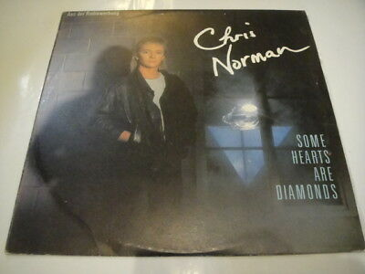 Chris Norman ‎– Some Hearts Are Diamonds BULGARIAN press LP Different! BLUE/GREY