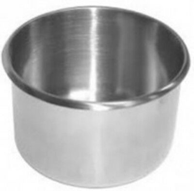 2 Jumbo stainless Steel Drink Cup Holder for tables cars and more