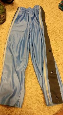 Starter Boys Basketball Tear Away Pants Blue/Gray size 6/7