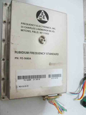 Used FE-5680A 10MHz High Precision Rubidium Atomic Clock In Good Condition+UK