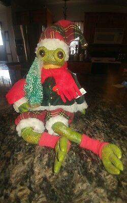 brinns collectible dolls Christmas frog