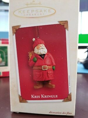 Hallmark Keepsake Ornament - 2003 Kris Kringle