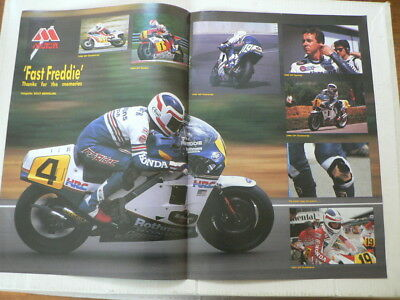 A323- Fast Freddie Spencer Thanks For The Memories Honda Hrc No 4 82-87 Poster