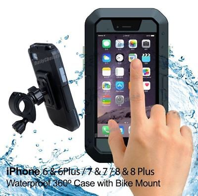 IPX8 Waterproof Pouch Bag Case Cover Bike Bicycle Motorcycle Phone Mount Holder