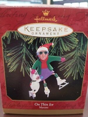 Hallmark Keepsake Ornament - 1999 Maxine - On Thin Ice