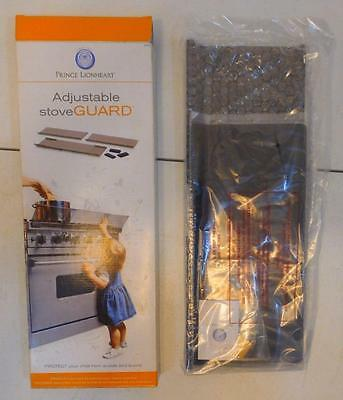 Nib Prince Lionheart Adjustable Stove Guard Child Proof