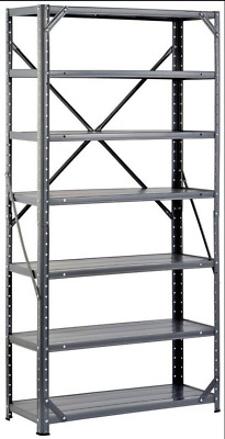 Muscle Stainless Steel Adjustable 6 Shelf Storage And Organizer Rack