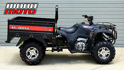 Ag Boss 300Hd Atv Auto 5Sp 250Cc Diff Drive Tipper Tray Farm Ute Trailer Elstar