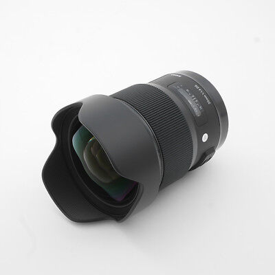 New SIGMA 20mm f/1.4 DG HSM Art Lens for CANON EF