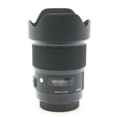 New SIGMA 20mm f/1.4 DG HSM Art Lens for SIGMA Mount (SA) Made in Japan
