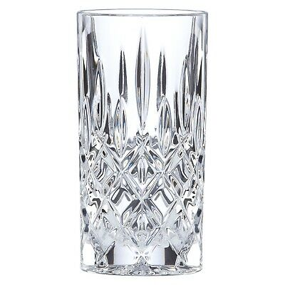 New Gorham Lady Anne Signature Crystal Highball Glass Set of (2) Free Shipping
