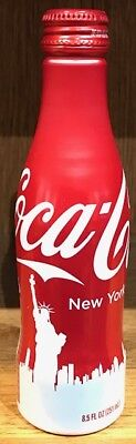 Coca-Cola aluminium bottle USA 2016 New York Statue of Liberty