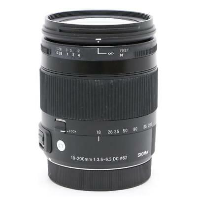 New SIGMA 18-200mm f/3.5-6.3 DC Macro HSM Contemporary Lens for PENTAX K Mount
