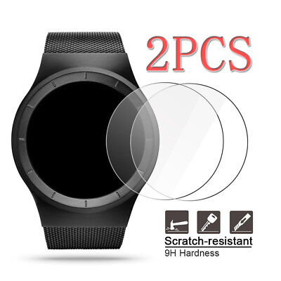 2PCS Universal 9H Tempered Glass Screen Protctor For Round Watch (Φ=30MM-43MM)