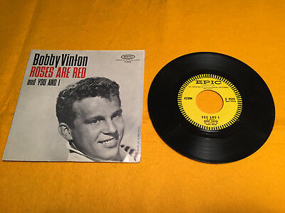 Bobby Vinton Roses Are Red/ You And I Vinyl 45rpm record