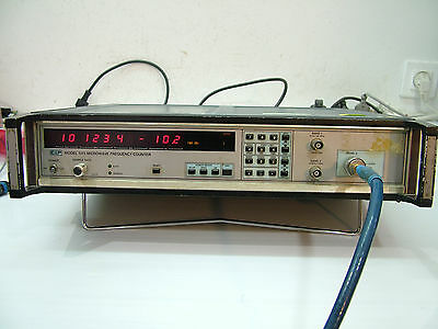 RF power meter and counter 1 to 18GHz -30 to +10dBm   EIP 545 opt 02