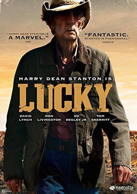 Lucky Dvd - Single Disc Edition - New Unopened - Harry Dean Stanton