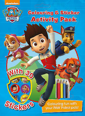 Nickelodeon PAW Patrol Colouring and Sticker Activity Pack by Parragon Books Lt…