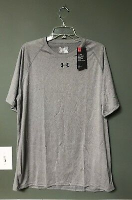 Mens Under Armour Loose Fit Locker T 1268471 NEW with tags color Grey FREE SHIP