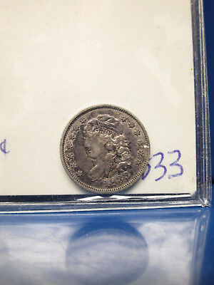 1833 Capped Bust 1/2 10C Half Dime