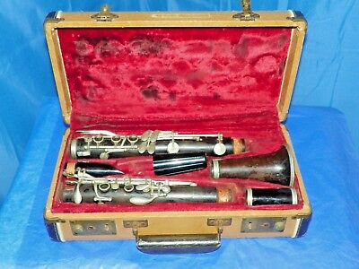 Vintage Evette Sponsored By Buffet E-Z Tone A Wooden Clarinet