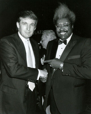 Image result for photo of Donald Trump among boxers