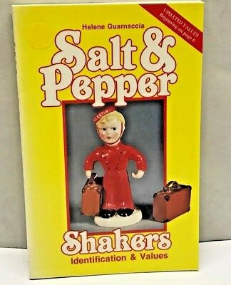 SALT & PEPPER SHAKERS  Identification & Values Price Guide BOOK Photo collector