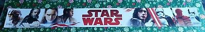 Star Wars Tlj The Last Jedi Toys R Us Store Display Banners New Unused Rare